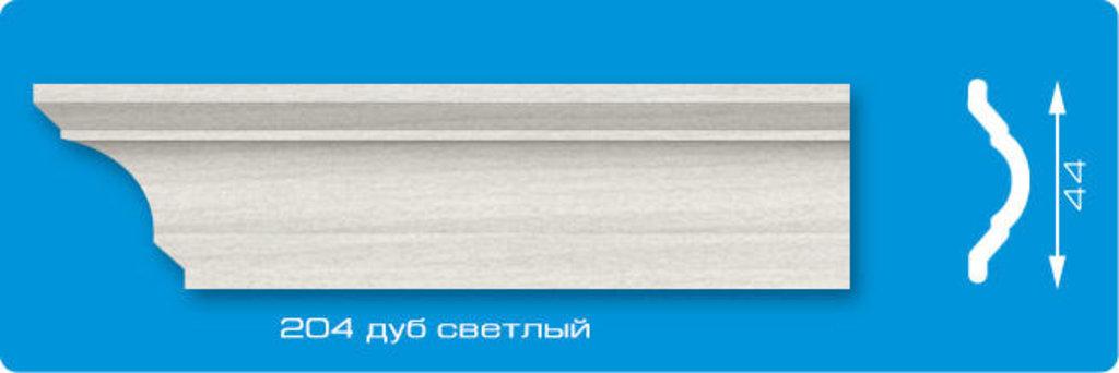 Плинтуса потолочные: Плинтус потолочный ЛАГОМ Ламинированный 204 дуб светлый экструзионный длина 2м в Мир Потолков