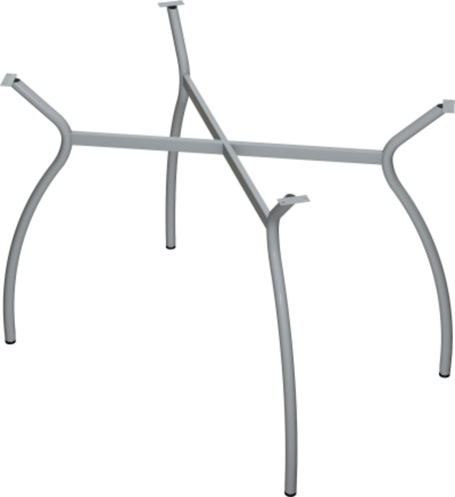 Столы для ресторана, бара, кафе, столовых.: Стол прямоугольник 120х80, подстолья № 7 прямоугольник серая в АРТ-МЕБЕЛЬ НН