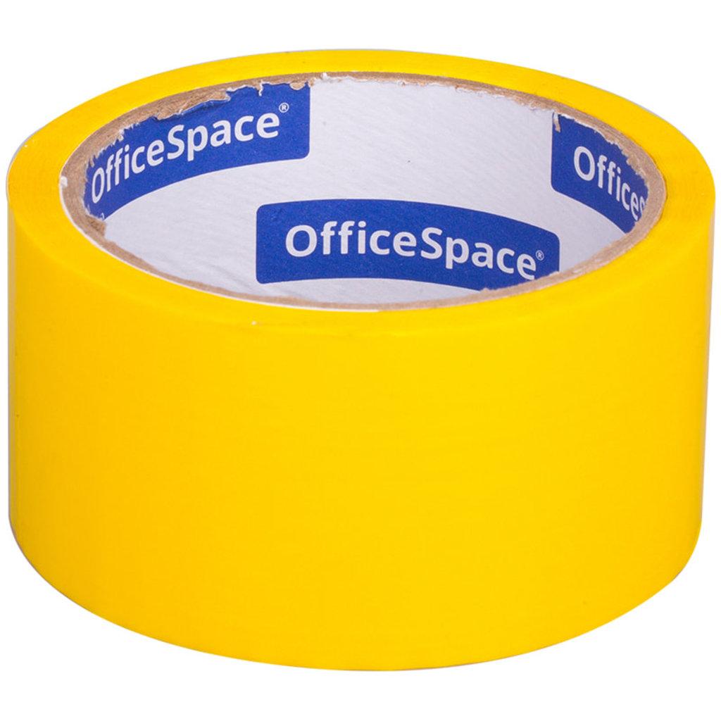 Скотч: Скотч OfficeSpace , 48мм*40м,45мкм, желтый ШК КЛ_6286 в Шедевр, художественный салон