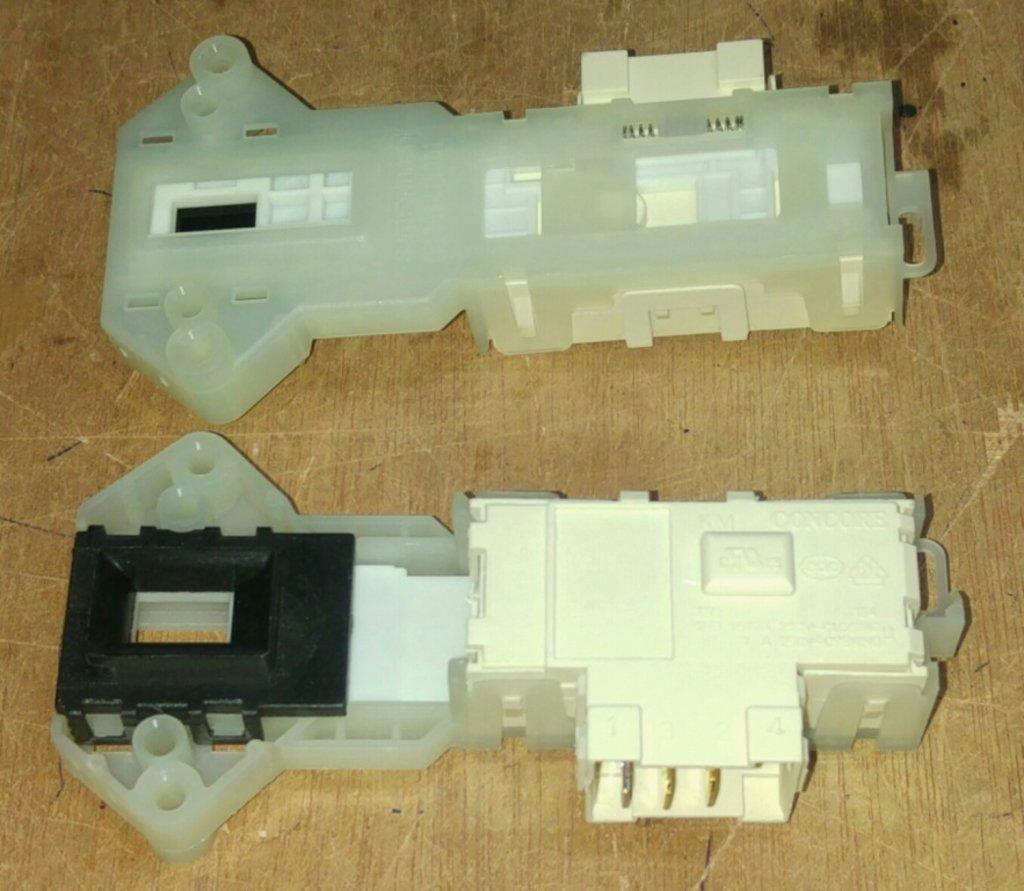 Термоблокировка люка для стиральной машины (УБЛ): Термоблокировка люка (УБЛ - устройство блокировки люка) для стиральных машин LG (ЛЖ), 6601EN1003D, 6601ER1005A, 6601EN1003A, 6601EN1003B в АНС ПРОЕКТ, ООО, Сервисный центр