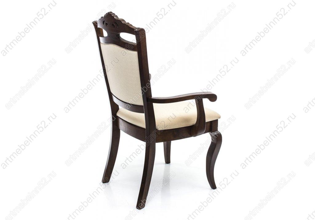 Стулья, кресла деревянный для кафе, бара, ресторана.: Кресло 1610 в АРТ-МЕБЕЛЬ НН
