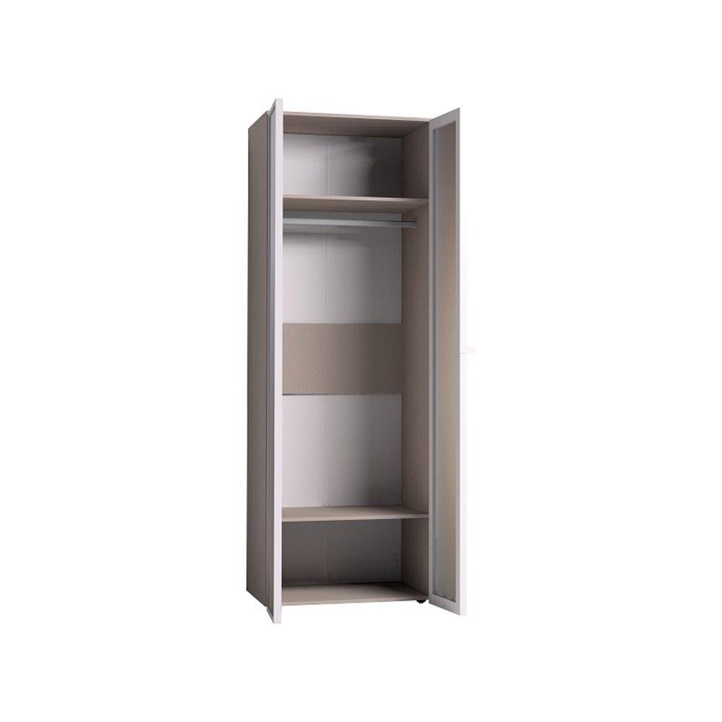 Мебель для спален, общее: Шкаф для одежды Brownie 54 (ФАСАД Зеркало + Зеркало) в Стильная мебель