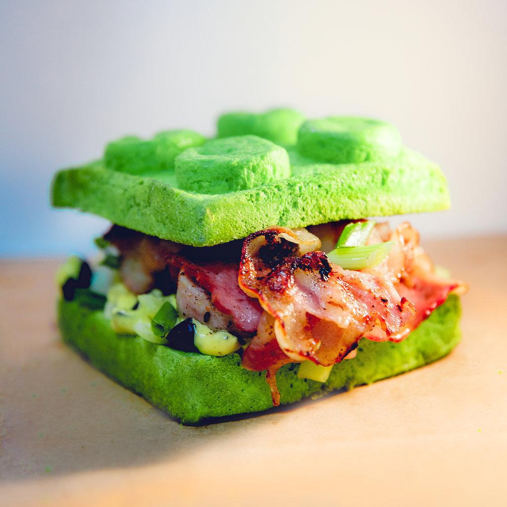Легго-бургеры: Лулу в Leggo burger