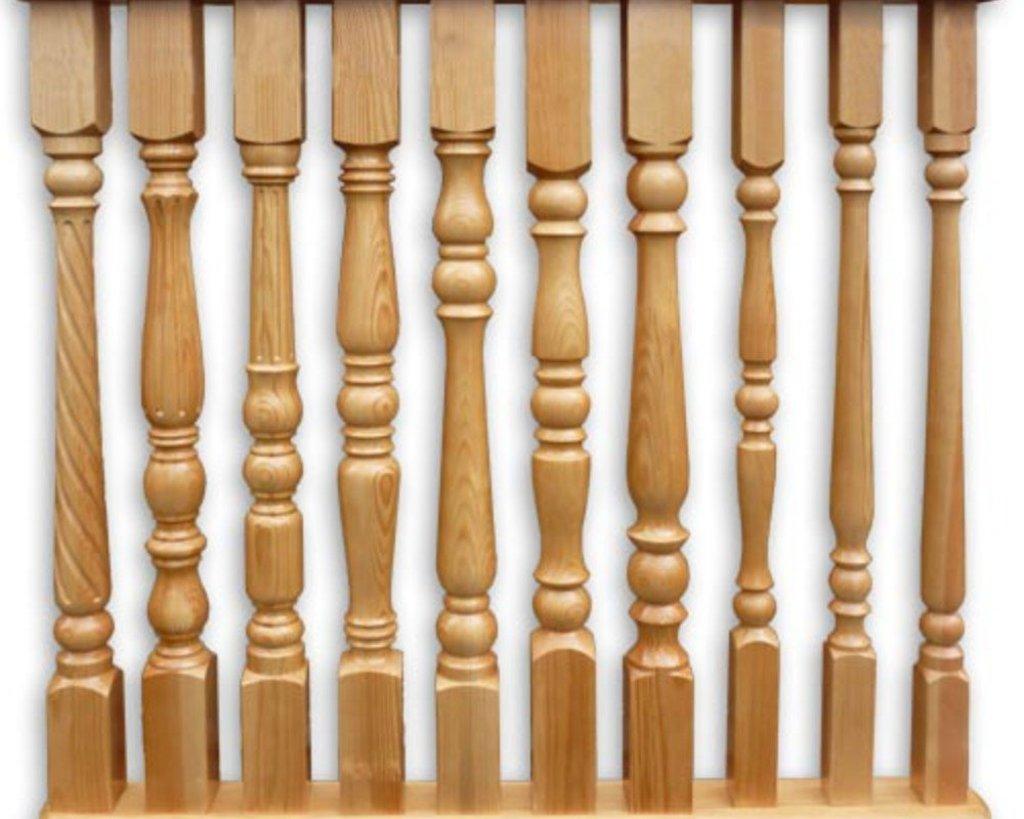 Элементы для лестниц: Купить балясины из дерева в Terry-Gold (Терри-Голд), погонажные изделия