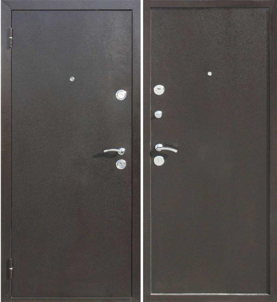 Двери Цитадель: Дверь входная металлическая Йошкар Металл/металл 7см, 3 петли в Салон дверей Доминго Ноябрьск