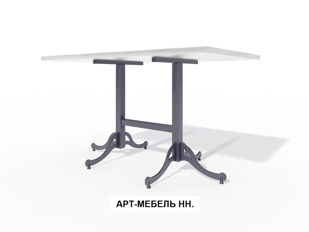 Подстолья для столов.: Подстолье 0.27 (чёрный) в АРТ-МЕБЕЛЬ НН