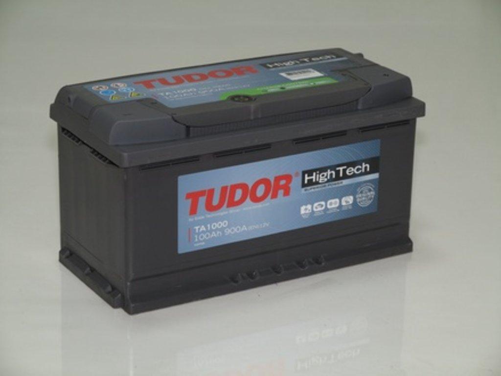 Аккумуляторы автомобильные: TUDOR HIGH - TECH 100 А/Ч L в Мир аккумуляторов