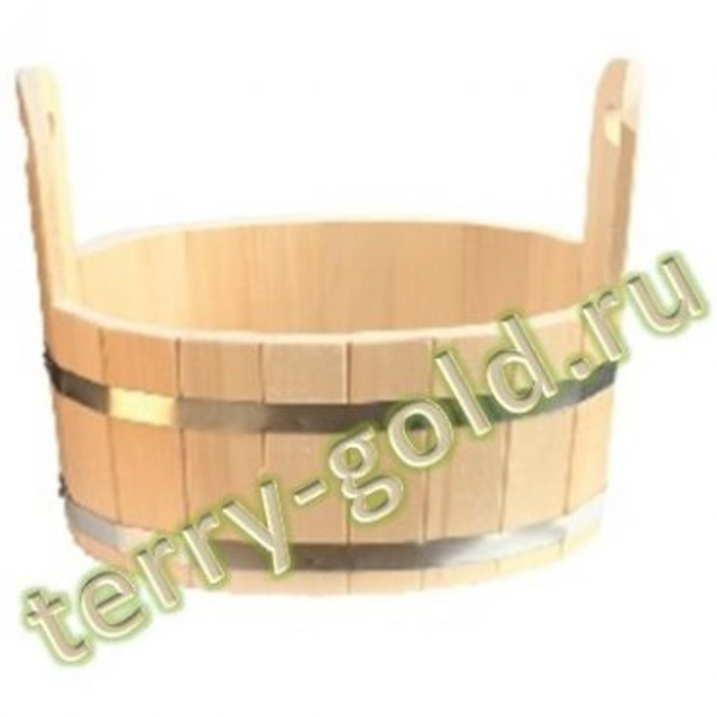 Бондарные изделия: Ушат овальный малый в Terry-Gold (Терри-Голд), погонажные изделия