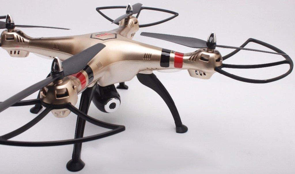 Комплектующие для радиоуправляемых игрушек и моделей: Радиоуправляемый квадрокоптер Syma X8HW в Смотритель