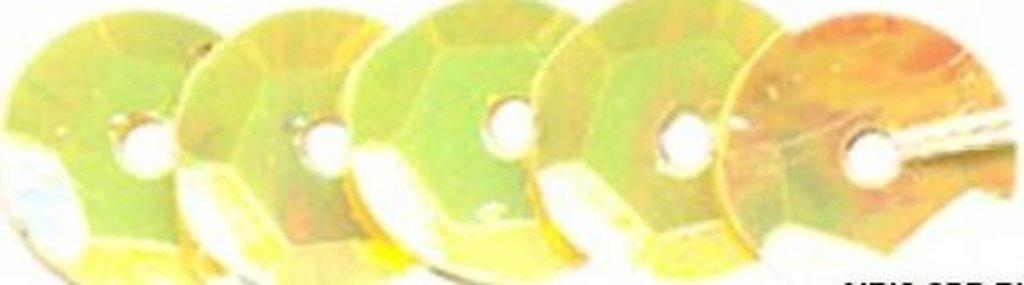 Граненые 6мм.: Пайетки граненые 6мм.,10гр/упак.Астра(цвет:91 желто-лимонный) в Редиант-НК