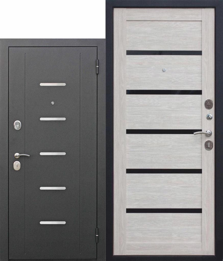 Двери завода Феррони: 7,5 см Garda МУАР ЦАРГА Лиственница мокко в Модуль Плюс