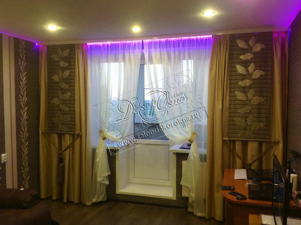 Карнизы для штор: Карнизы светодиодные в Декор окна, салон