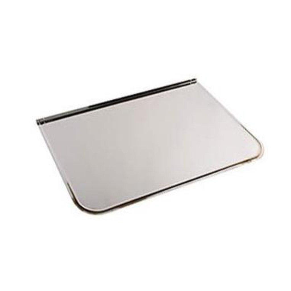 Печи и дымоходы: Притопочный лист Феррум нержавеющий (430/0,5 мм), 500х600мм, полукруглый в Погонаж