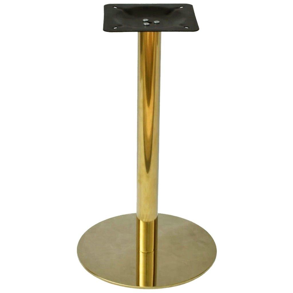 Подстолья для столов.: Подстолье 1028ЕМ (хром золото) в АРТ-МЕБЕЛЬ НН