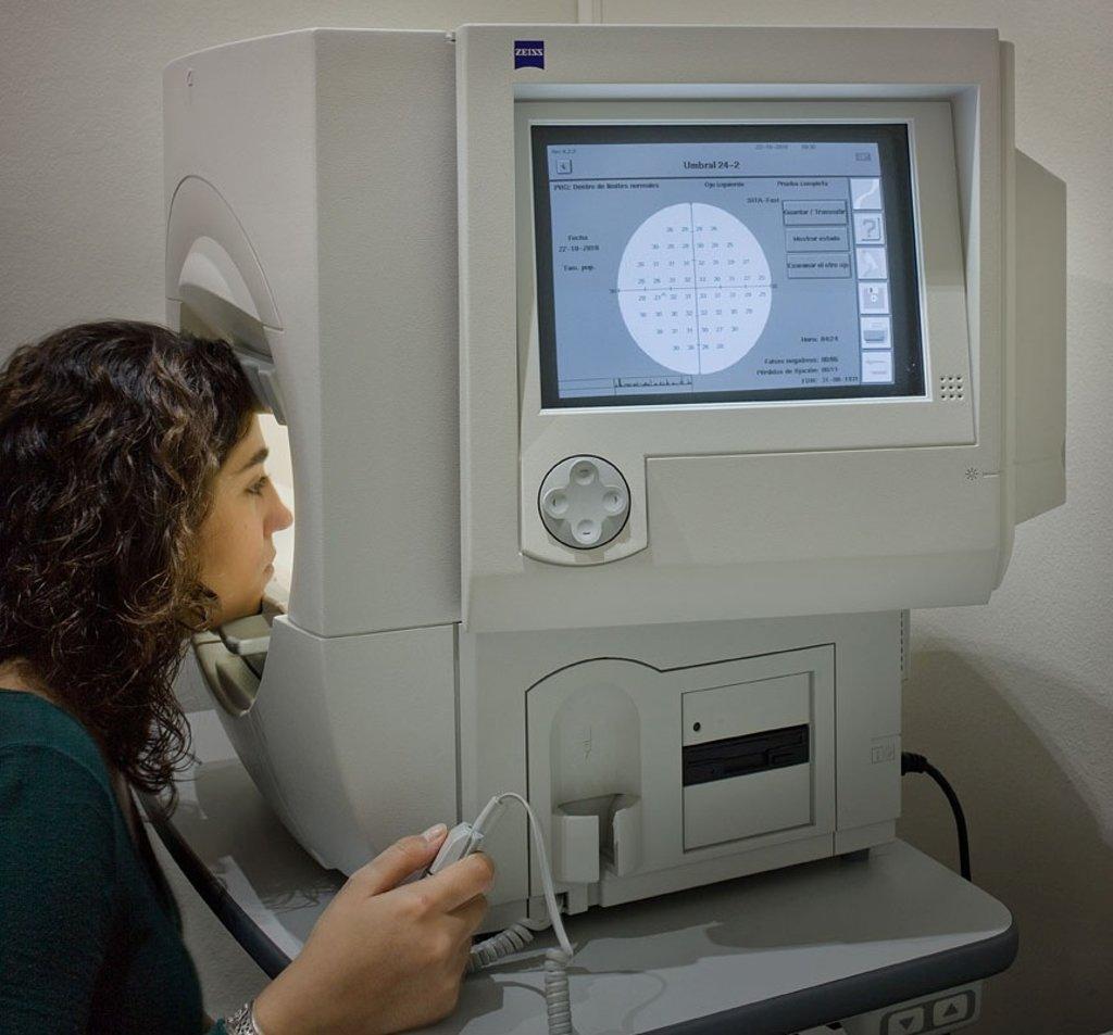 Коррекция зрения: Периметрия в Вологодский центр лазерной коррекции зрения, ООО