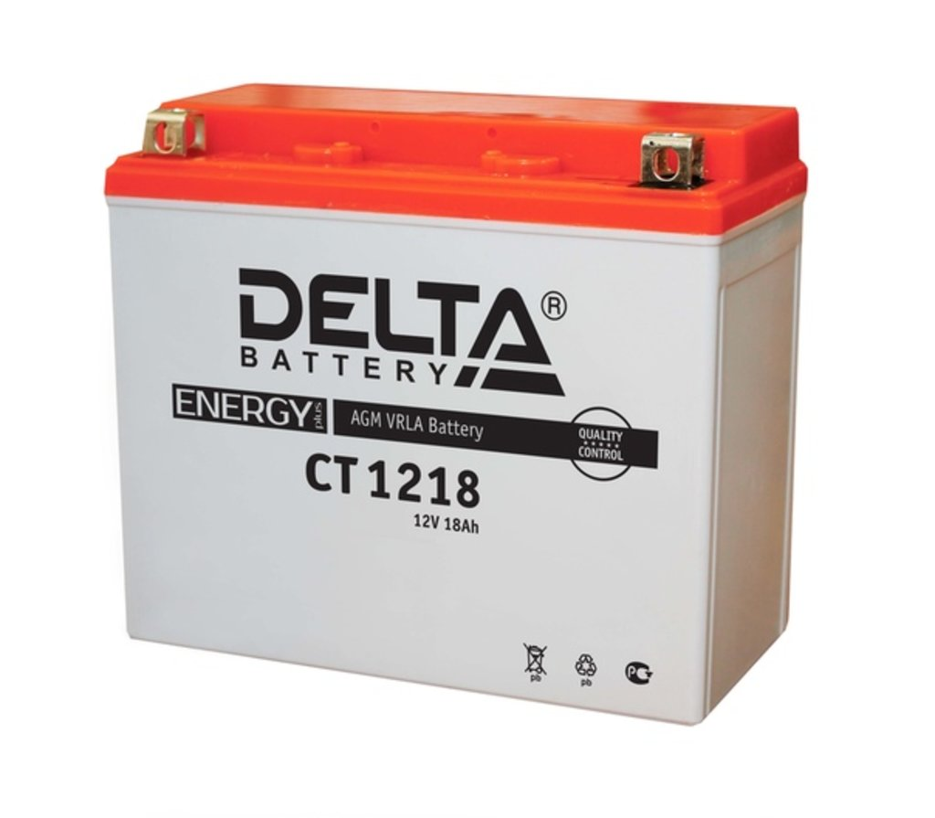 Delta: DELTA CT 1218 18 Ah в БазаАКБ