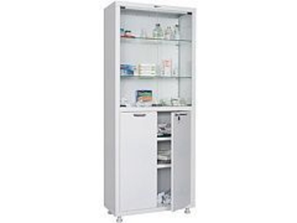 Шкафы медицинские металлические: Шкаф медицинский HILFE МД 2 1670/SG в Техномед, ООО