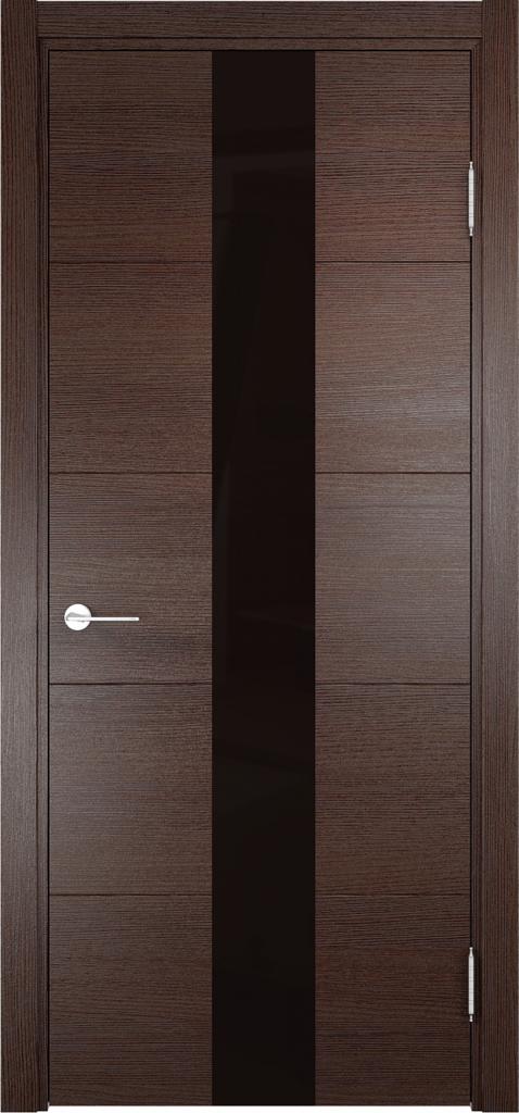 Двери Верда: Дверь межкомнатная Турин 14 Эко шпон с Алюминиевой кромкой в Салон дверей Доминго Ноябрьск