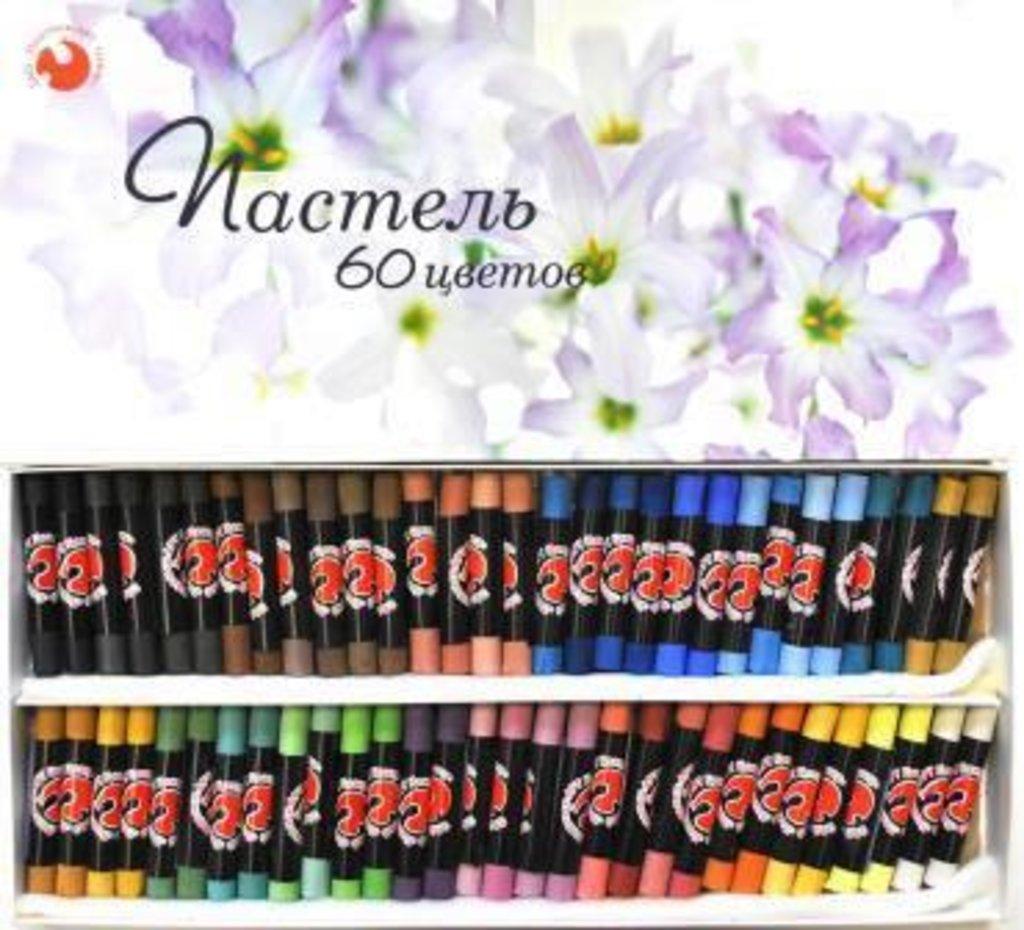 Сухая пастель: Пастель 60 цветов картонная коробка в Шедевр, художественный салон
