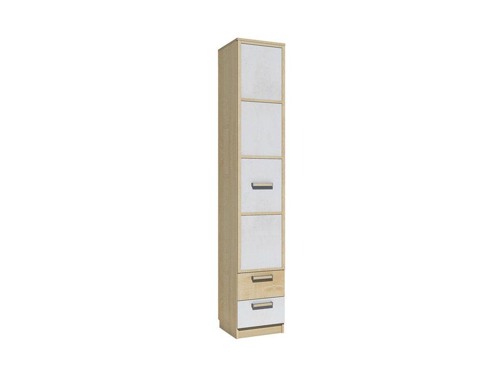 Детские шкафы и стеллажи: Шкаф для белья с ящиками НМ 013.01-02 Фанк в Стильная мебель
