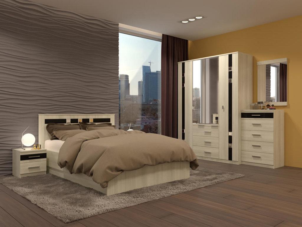Модульная мебель в спальню Николь: Модульная мебель в спальню Николь в Стильная мебель