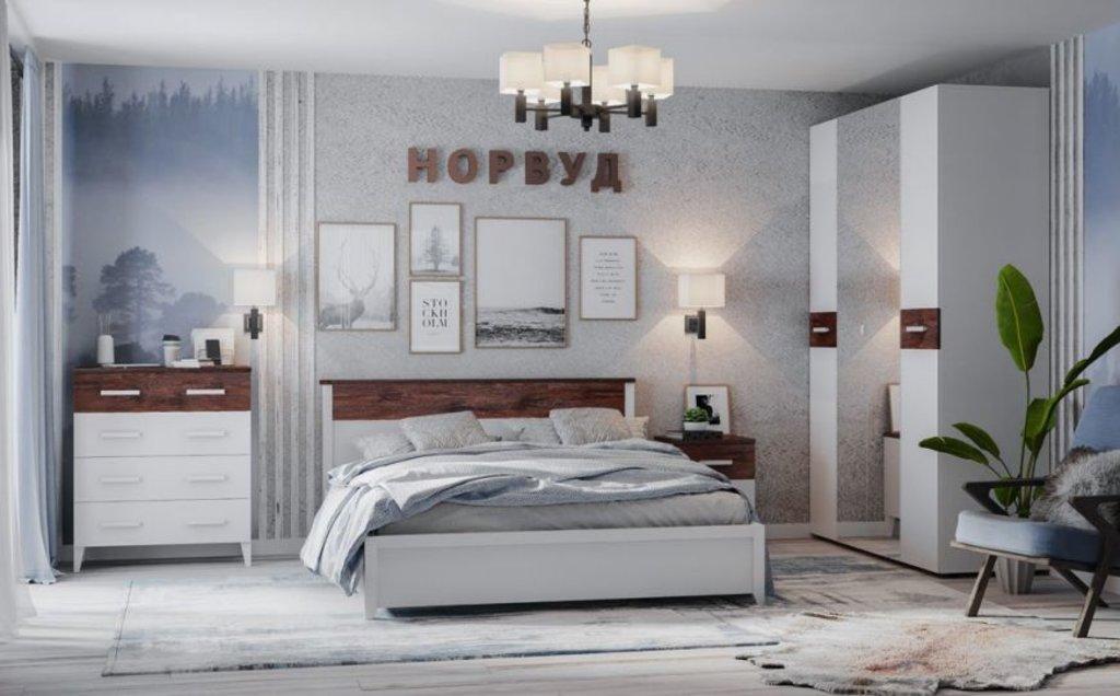 Мебель для спален, общее: Шкаф для белья Норвуд 55 в Стильная мебель