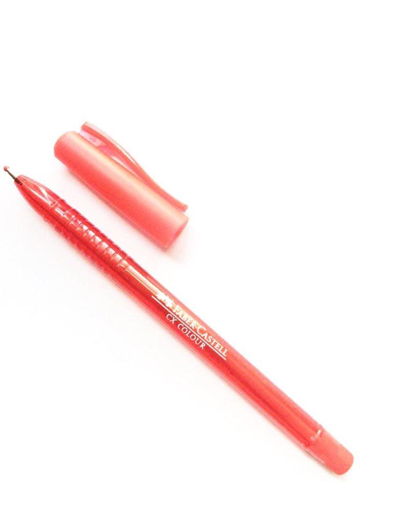 Ручки: Роллер СХ5 , красный , 1.0 мм Faber-Castell в Шедевр, художественный салон