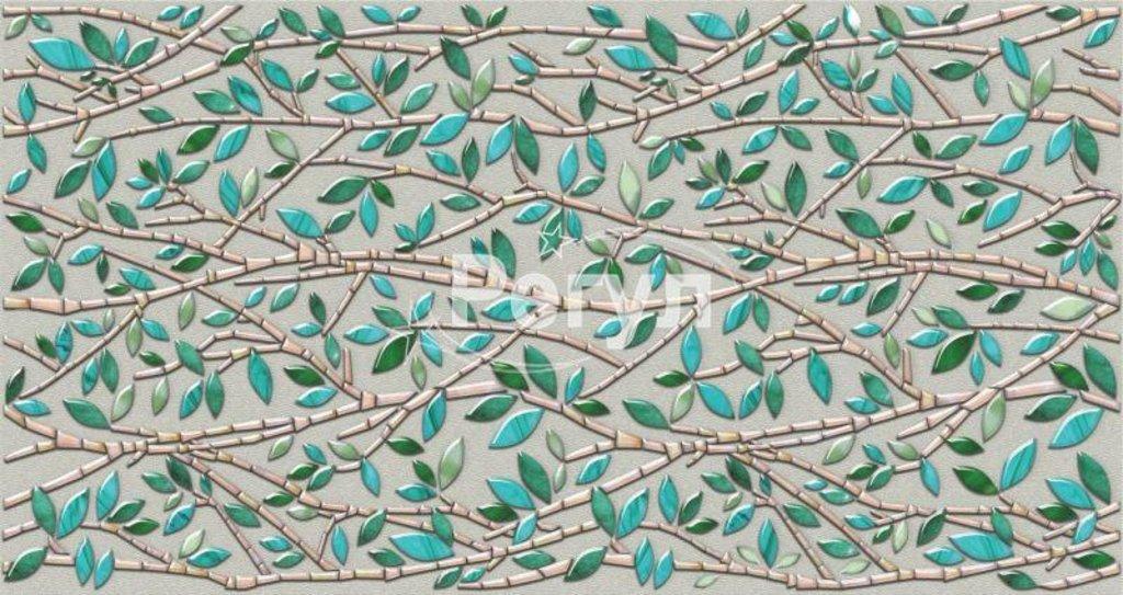 Панели ПВХ: Мозаика Малахитовый листок в Мир Потолков