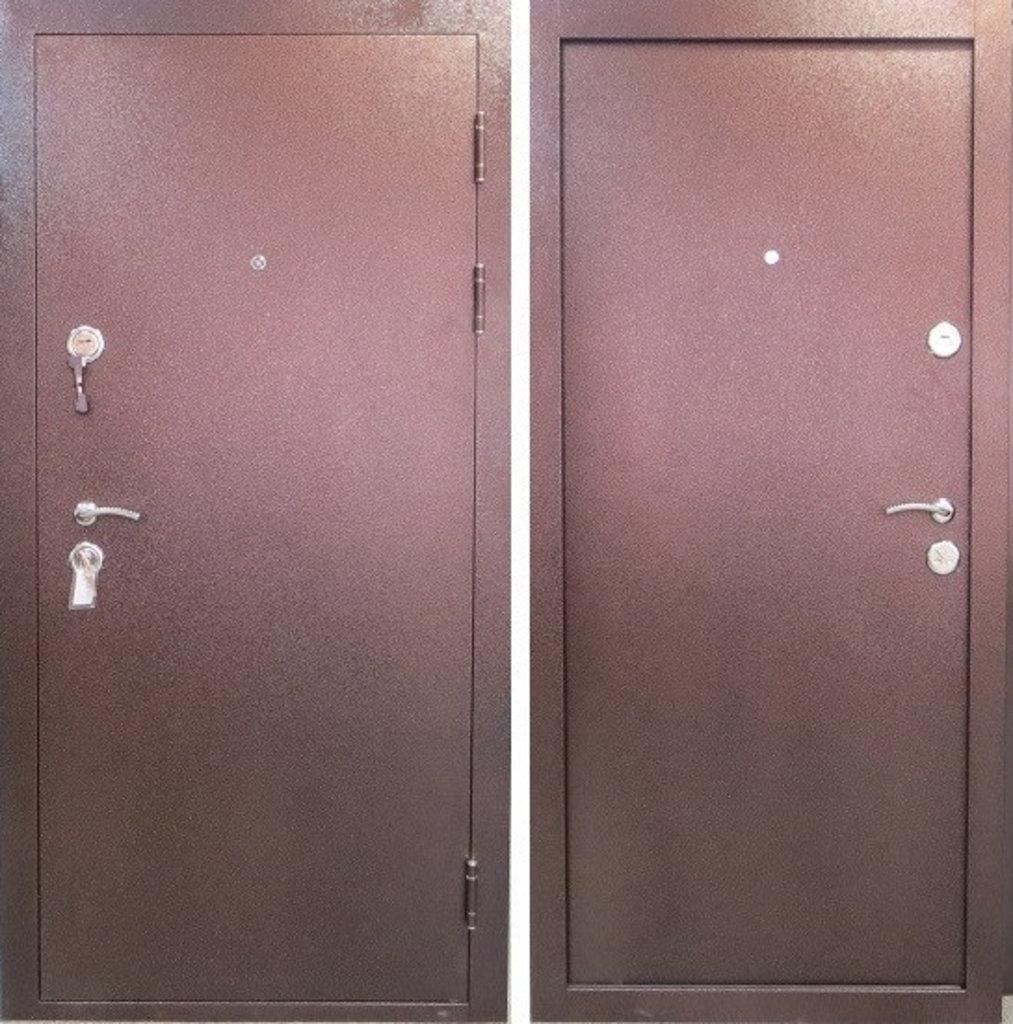 Двери Цитадель: Дверь входная металлическая Толстяк 10см Металл/металл в Салон дверей Доминго Ноябрьск