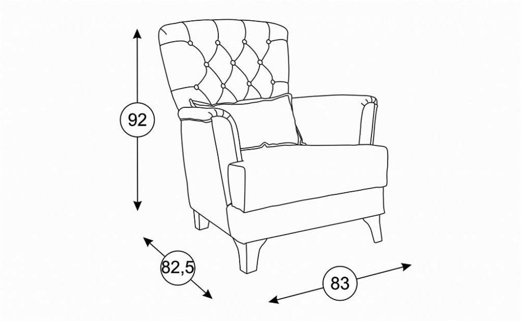Кресла Ирис: Кресло Ирис ТД 963 в Диван Плюс