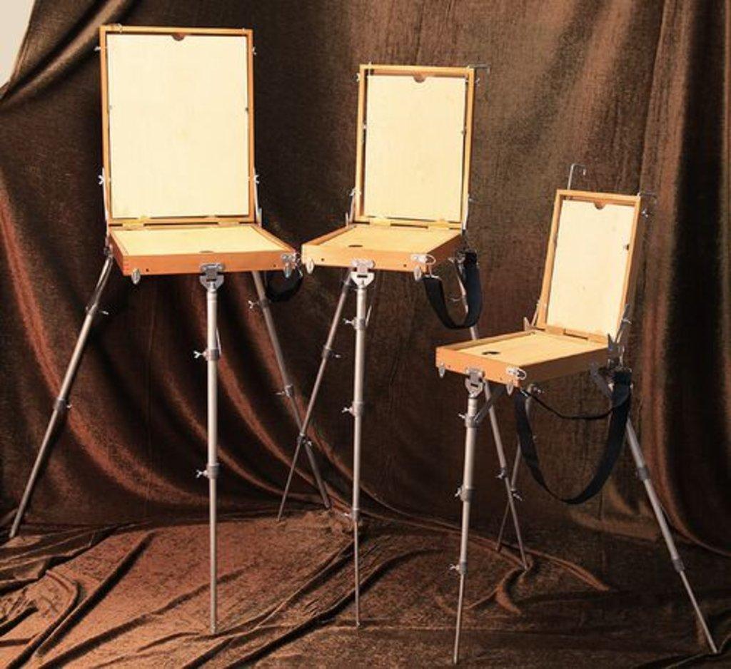 Этюдники, ящики для пленера: Этюдный ящик 15 В 3 (береза) 250 x 350 x 85 мм вес - 2970 гр в Шедевр, художественный салон