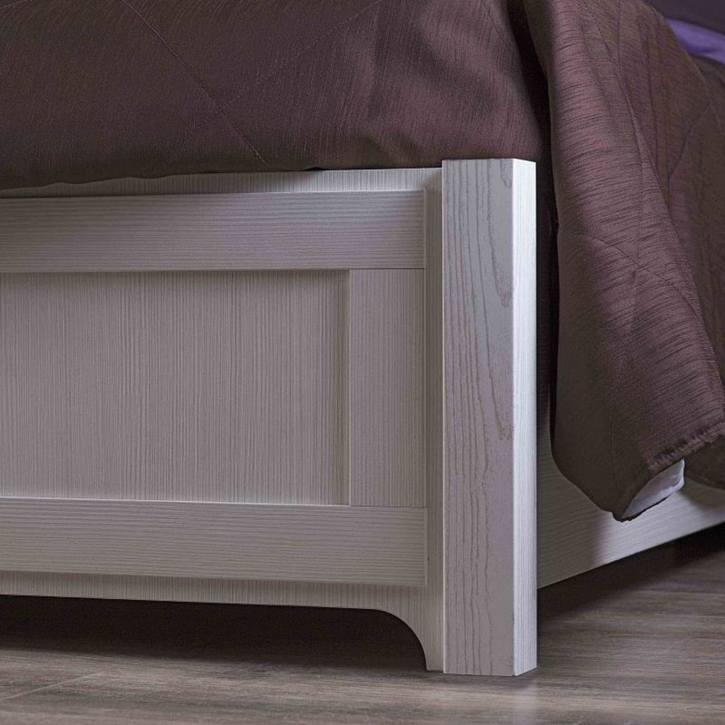 Кровати: Кровать Люкс Карина 308 (1400, орт. осн. дерево) в Стильная мебель