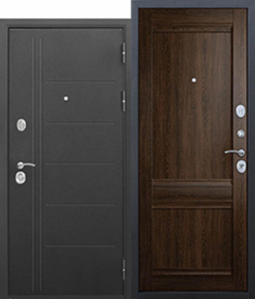Двери завода Феррони: 10 см Троя Муар Орех сиена Царга в Модуль Плюс