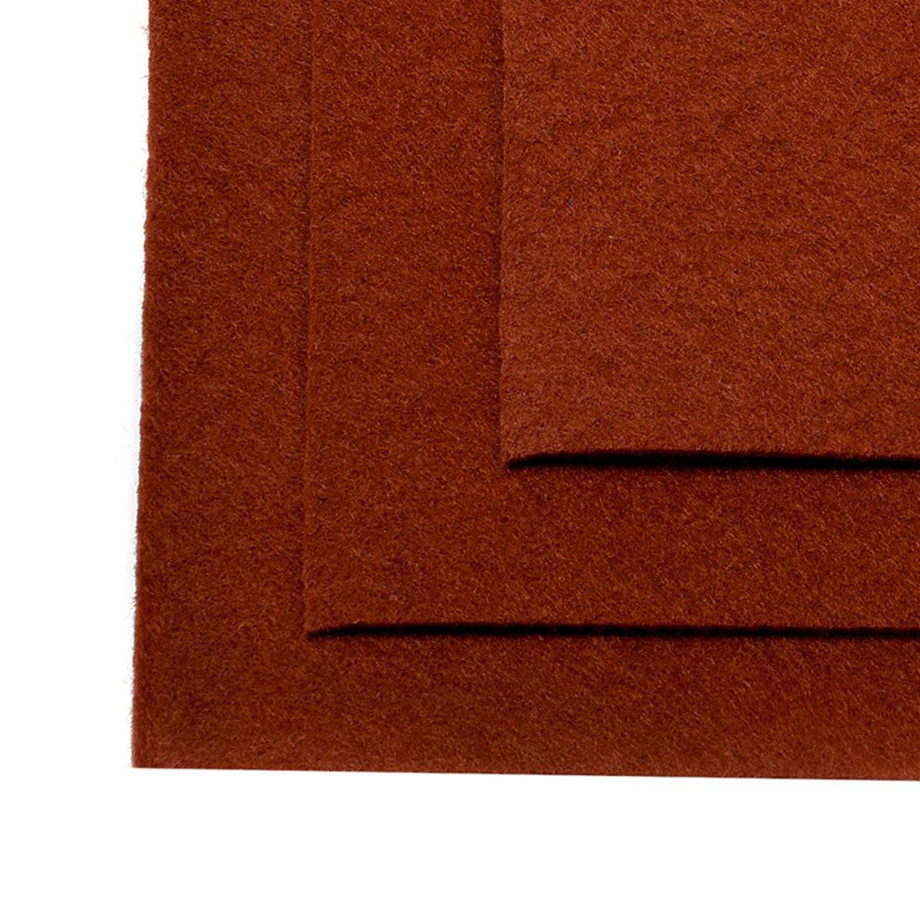 Фетр: IDEAL Фетр жёсткий 1мм 20*30см св.коричневый 1лист в Шедевр, художественный салон