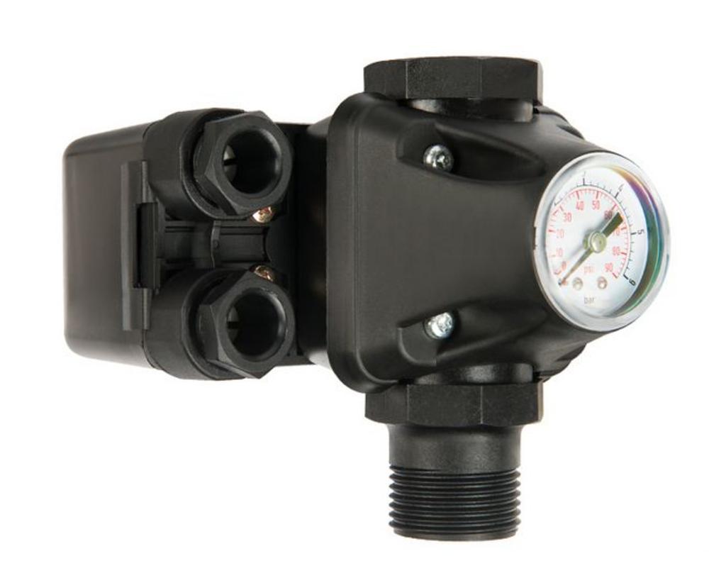 Pеле давления: Реле давления с манометром PМ-5 3W в Аквамарин, бурение скважин на воду в Вологде