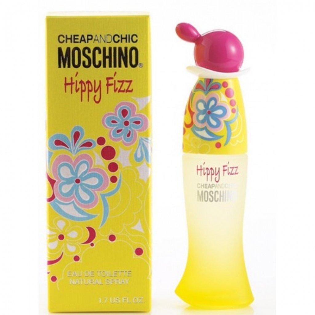 Женская туалетная вода Moschino: Туалетная вода Moschino Hippy Fizz edt ж 50 ml в Элит-парфюм