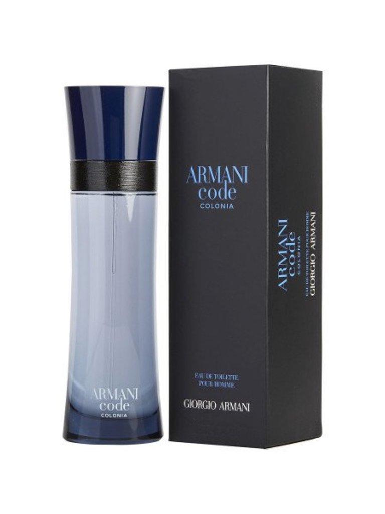 Для мужчин: Armani Code Colonia Pour Homme Туалетная вода 75 ml в Элит-парфюм