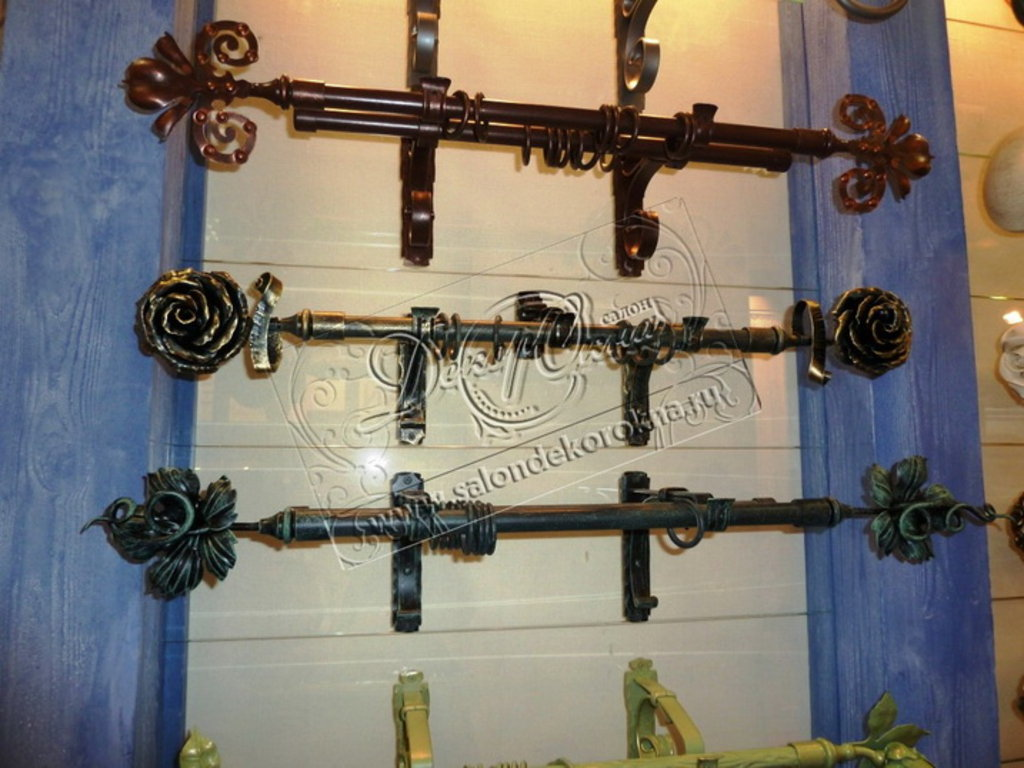 Карнизы для штор: Карнизы кованые в Декор окна, салон