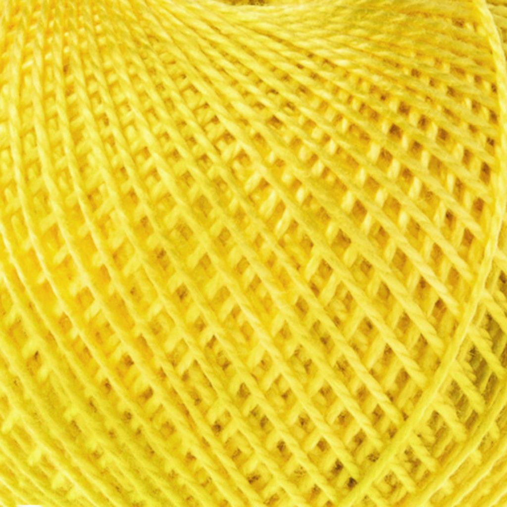 Ирис 25гр.: Нитки Ирис 25гр.150м.(100% хлопок)цвет 0301 желтый в Редиант-НК