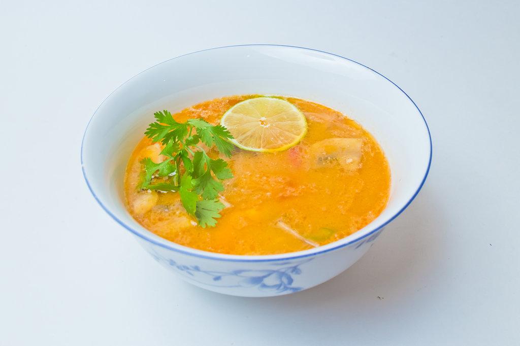 Супы: Том ям в Шанхай