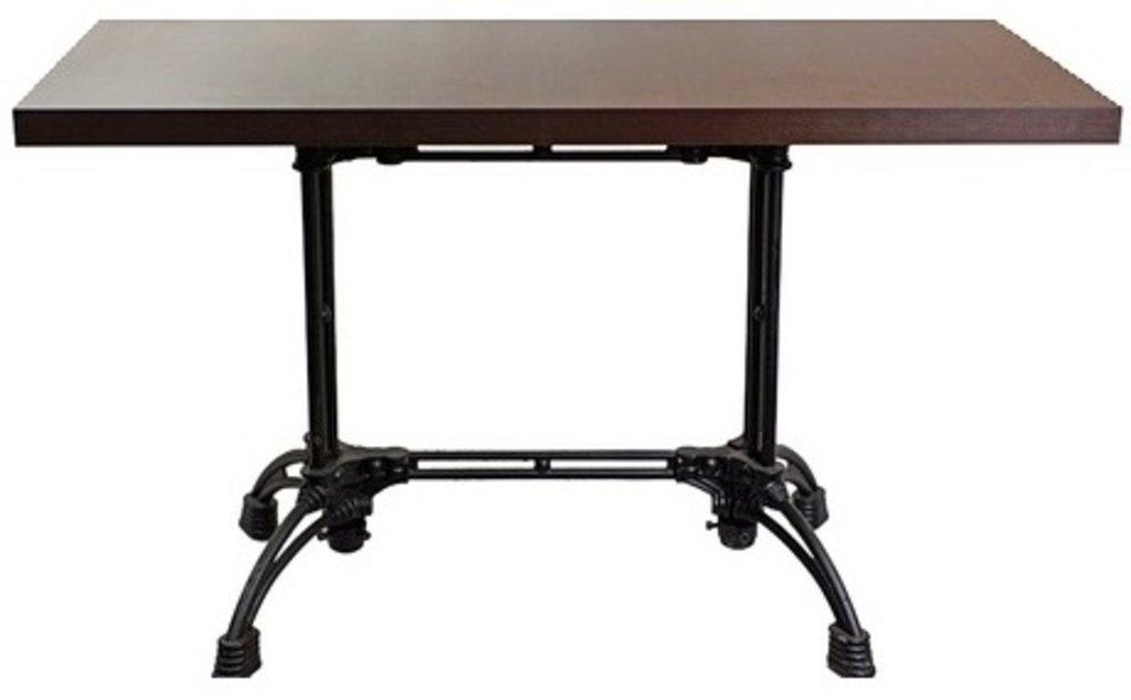 Столы для ресторана, бара, кафе, столовых.: Стол прямоугольник 1200х800, подстолья 1235 ЕМ чугун в АРТ-МЕБЕЛЬ НН