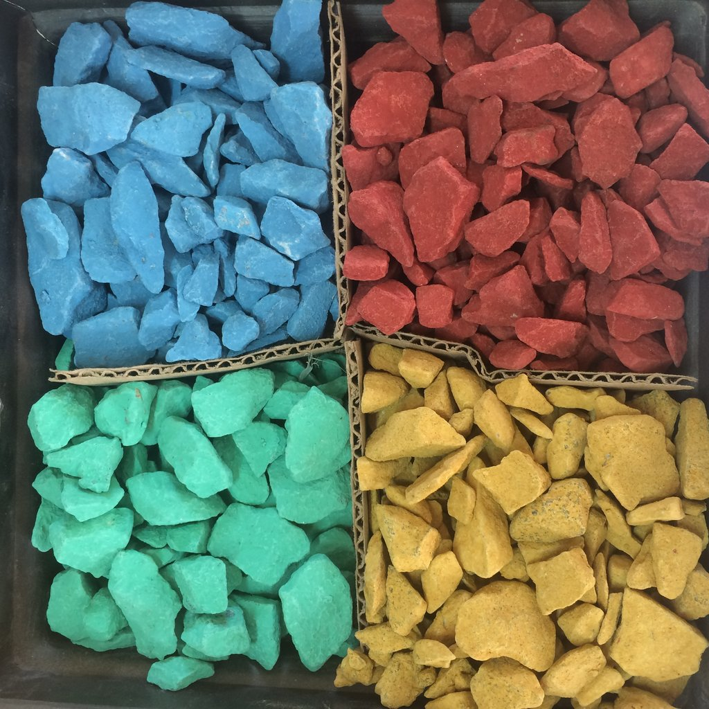 Галька, щебень: Доломитовый щебень фр.5-20мм синий в 100 пудов