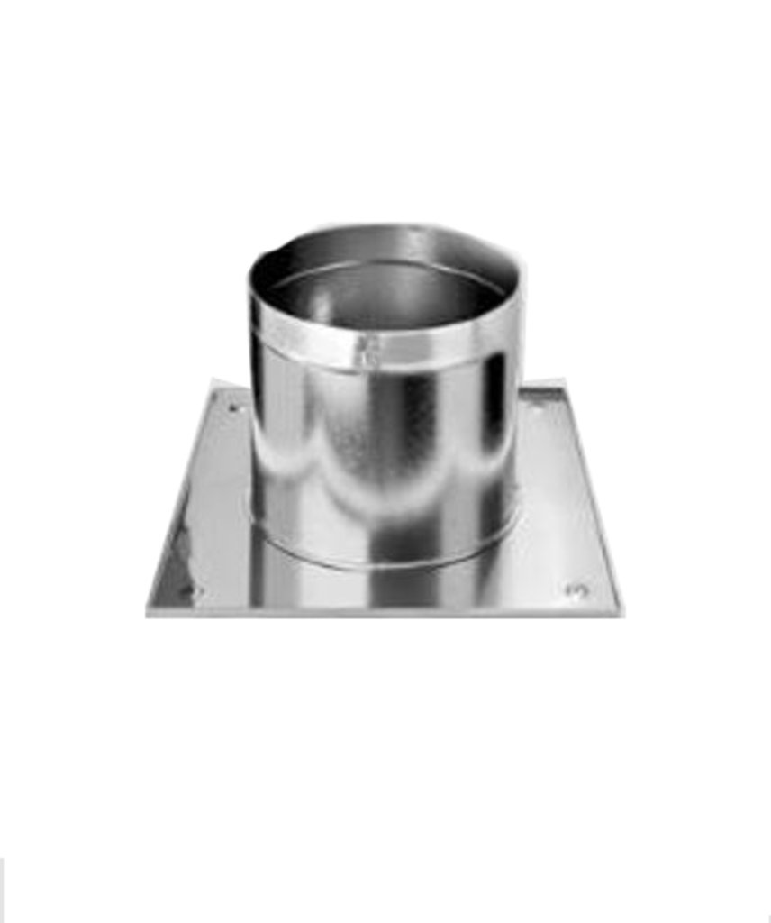 Печи и дымоходы: Разделка Феррум потолочная нержавеющая (430/0,5 мм), 500 ф200 в Погонаж