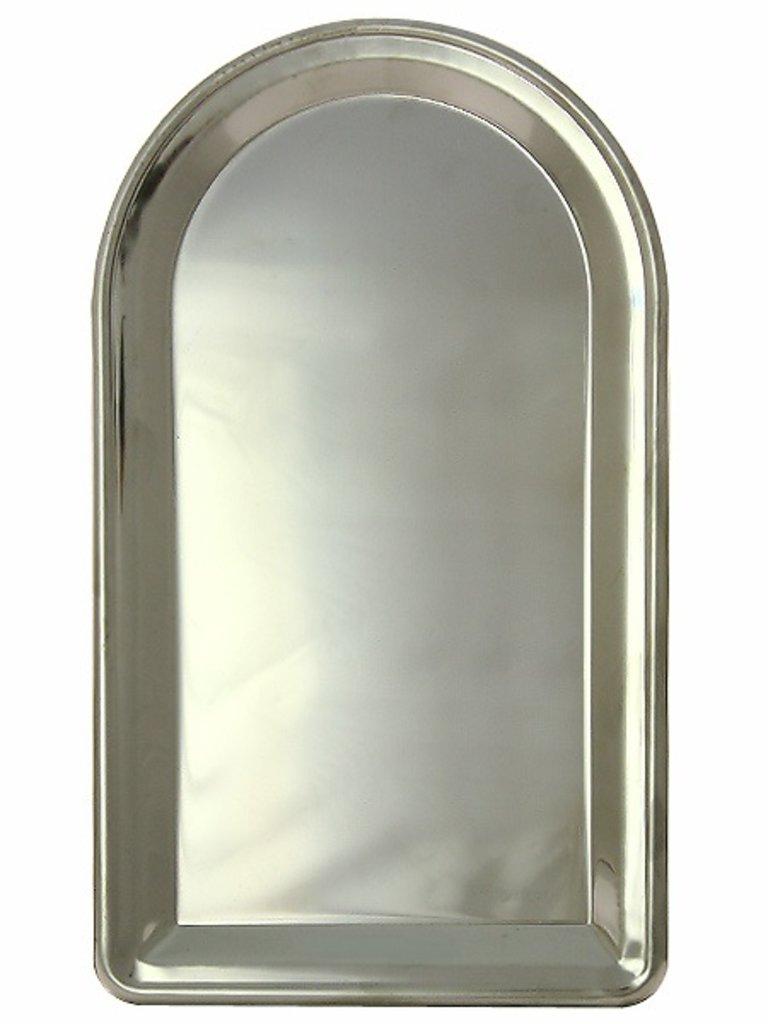 Самовары: Поднос для самовара удлиненный из нержавеющей стали в Сельский магазин
