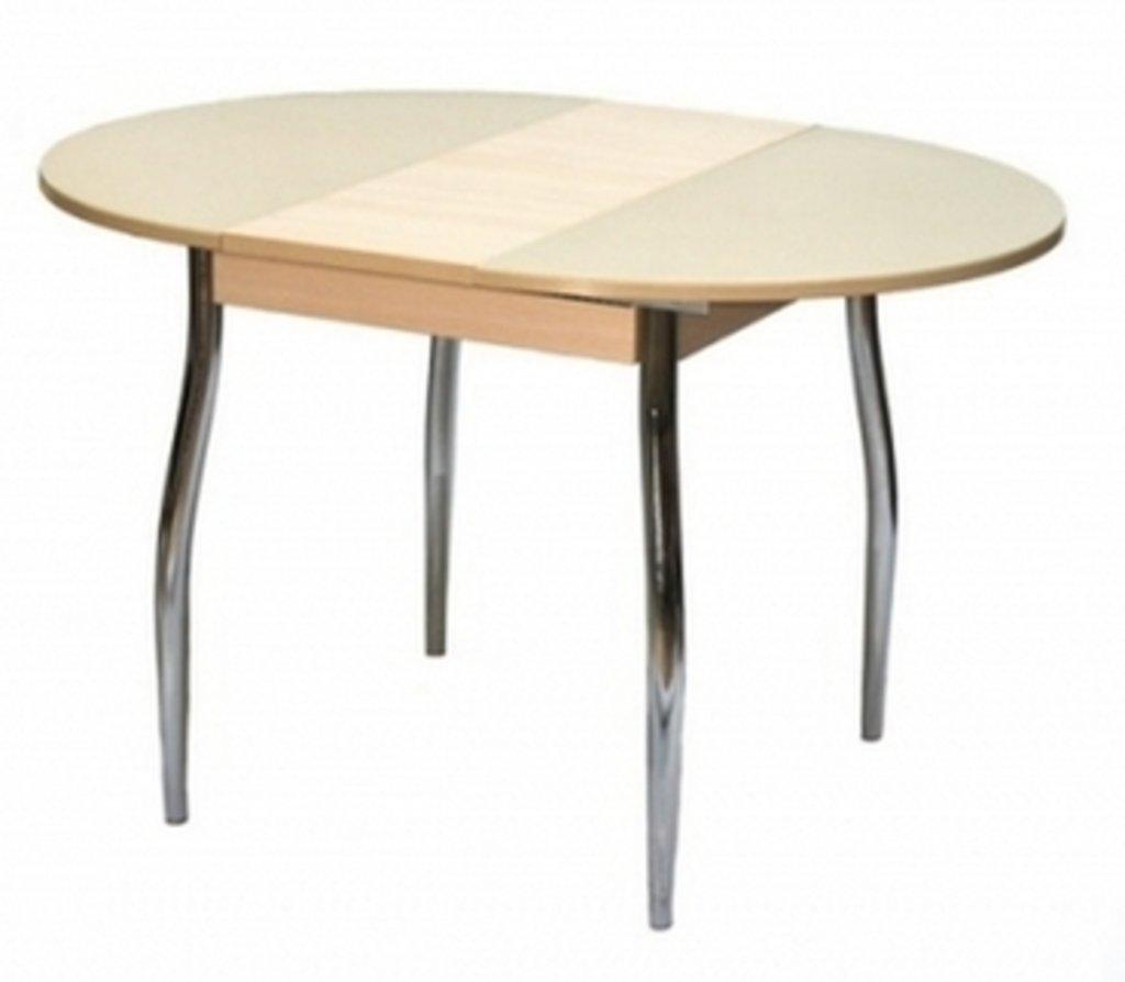 Столы кухонные.: Стол ПГ-03 раздвижной (хром) в АРТ-МЕБЕЛЬ НН