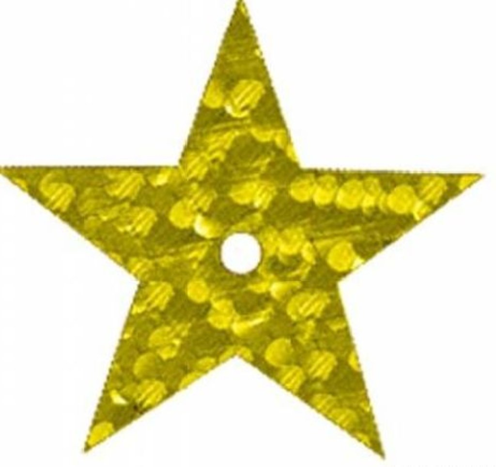 Звездочки: Пайетки звездочки 20мм.,упак/10гр.Астра(цвет:А20 золото голограмма) в Редиант-НК