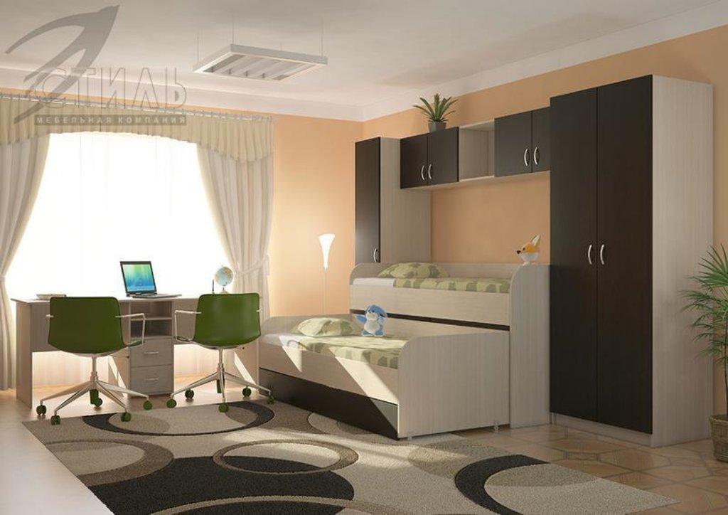 Мебель для детской Мийа - 2 (венге): Шкаф двухстворчатый Мийа - 2 (венге) в Диван Плюс