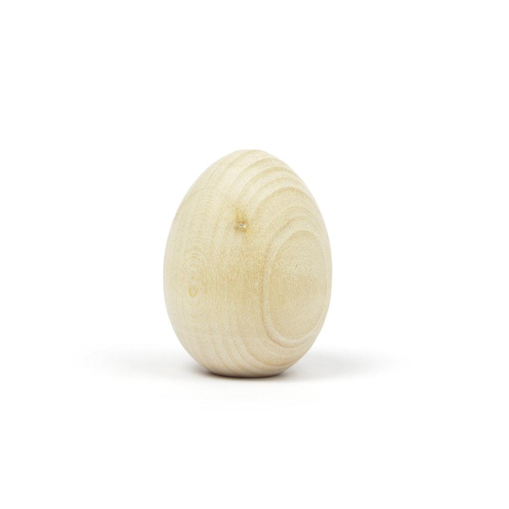 """Дерево,МДФ: Заготовка деревянная """"Яйцо"""" 40*50мм в Шедевр, художественный салон"""