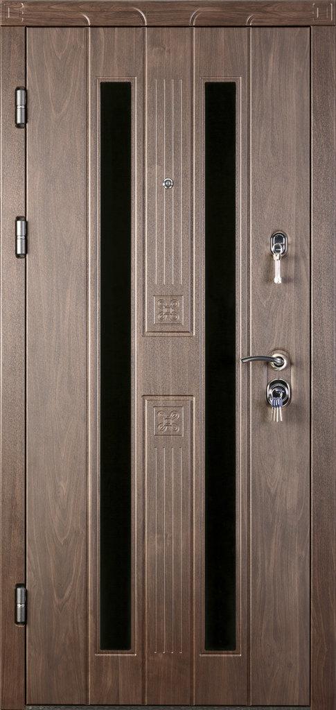 Входные двери (премиум)  от 90-110мм: Входная дверь ВЕРОНА в Пластиковые окна в Сургуте STEKLOMASTER