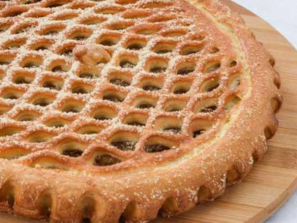 Сладкие: Пирог с яблоком и вишней в Провиант